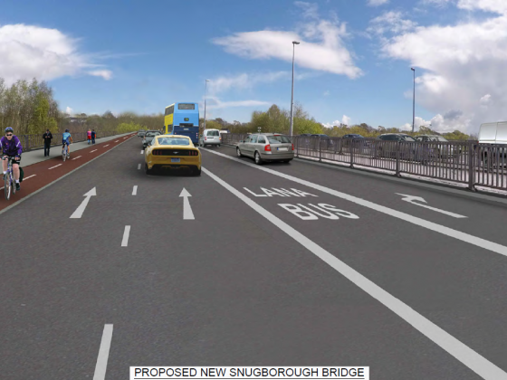 Council appoints BAM to upgrade the Snugborough Interchange