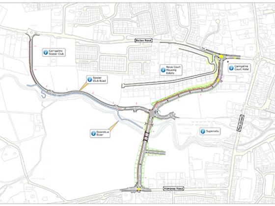Construction contract awarded for Carrigaline Western Relief Road