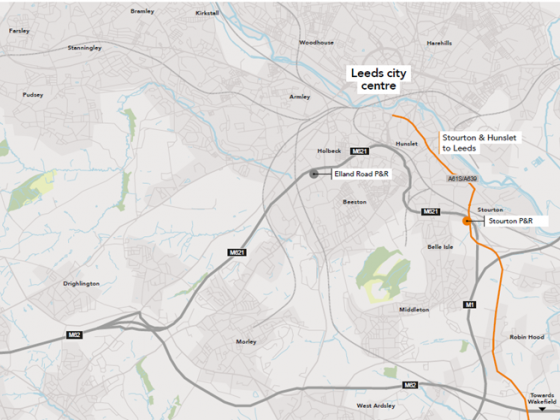 Update on transforming the A61 south bus corridor