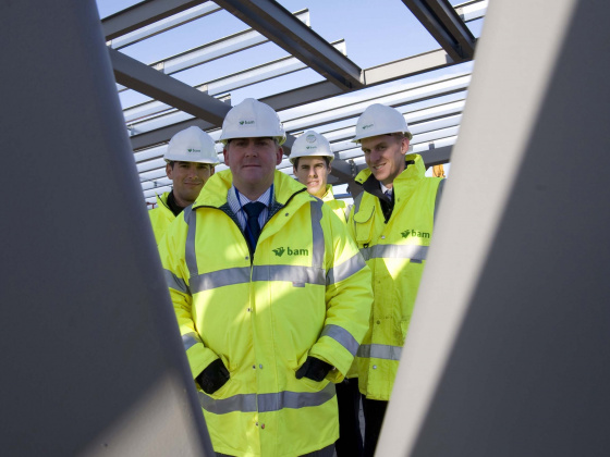 BAM breaks £250 million of new buildings in Lancashire in past 20 years