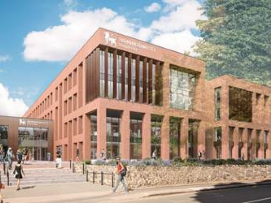 Artists impression Birmingham City University
