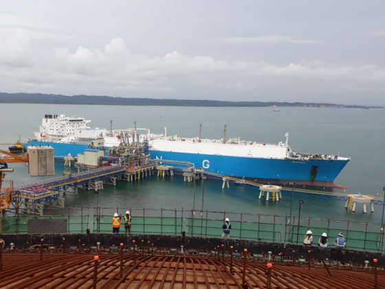BAM ICONSA jv hands over LNG jetty for Costa Norte LNG Terminal in Panama