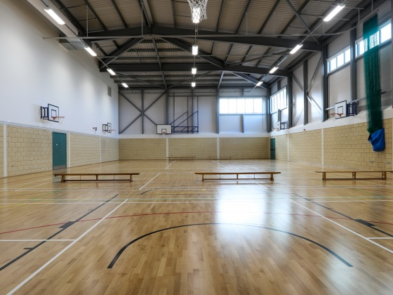 BAM hands over Ilfracombe Academy 16 weeks early and records a quarter of a million man hours