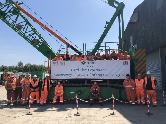 Kilsyth celebrating 20 years without a reportable accident