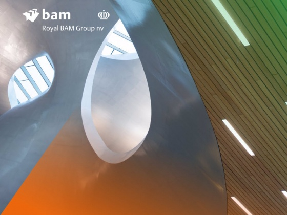 BAM reports nine months adjusted result of €64 million and reiterates full year outlook