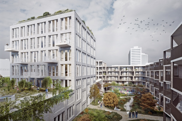 BAM realises two multifunctional projects in Brussels