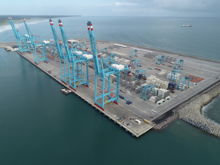 Van Oord and BAM International complete state-of-the-art container terminal in Costa Rica