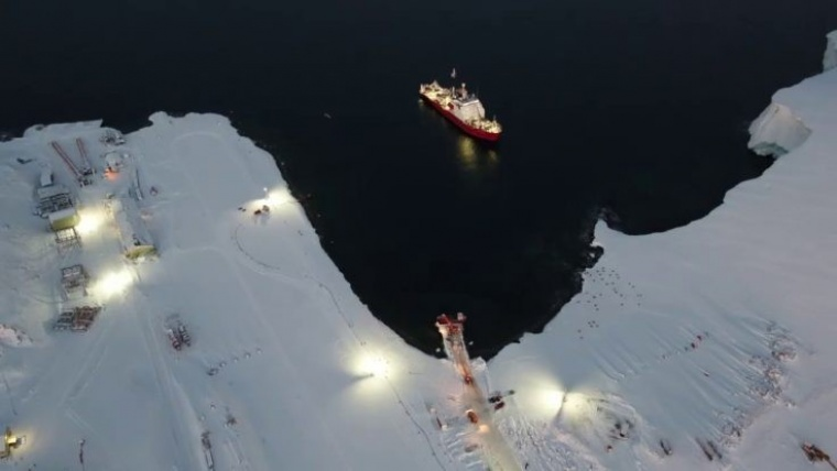 First Antarctic construction season success
