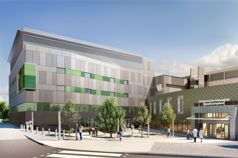 Earlier artist's impression of the new building and not complete representation of it.