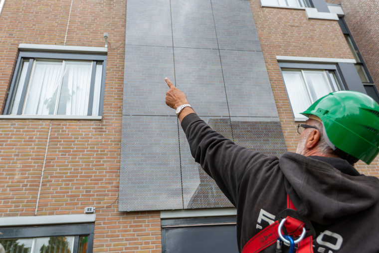 New generation of solar panels incorporated into facades