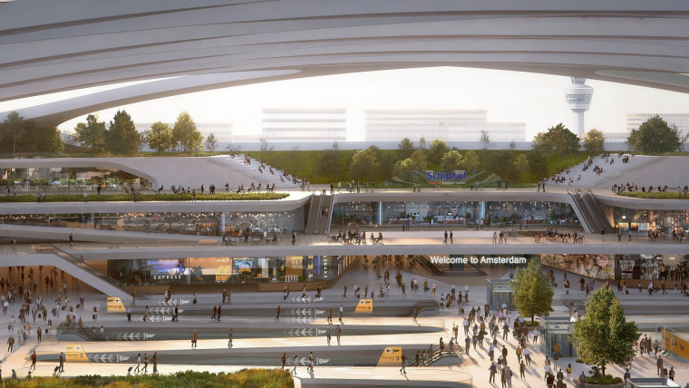 Hyperloop can play major role in Schiphol becoming the envisioned sustainable multi-modal hub