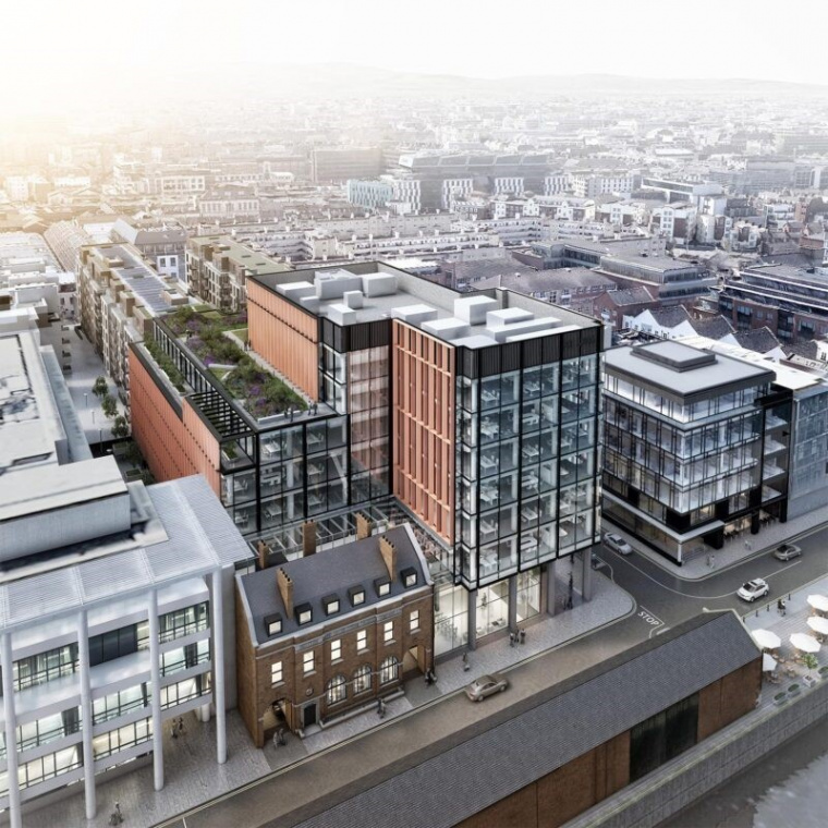 Marlet appoints BAM Ireland as main contractor for commercial development the Shipping Office on Sir John Rogerson's Quay