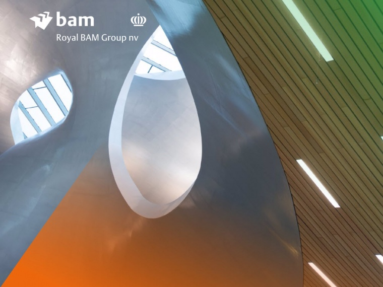 Koninklijke BAM Groep nv announces approximately €125 million subordinated unsecured convertible bonds