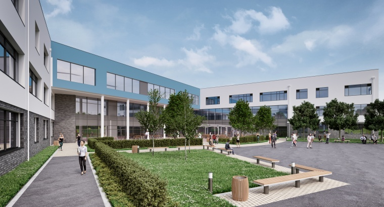 Artists impression Great Western Academy