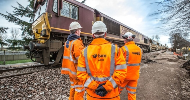 Network Rail awards £10 million Highland mainline contract