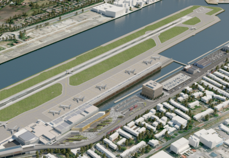 London City Airport awards BAM Nuttall with major contract for concrete deck extension