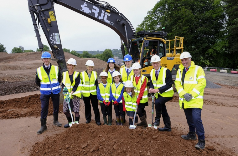 Deputy First Minister marks start of Jedburgh Campus construction