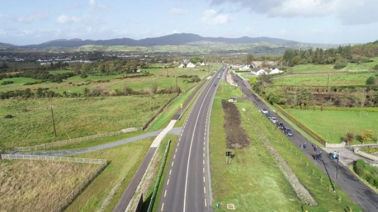 Official opening of €18.7m N56 Coolboy to Kilmacrennan Scheme