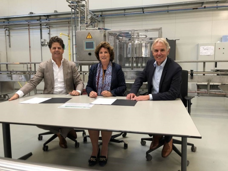 Ondertekening partnership-convenant