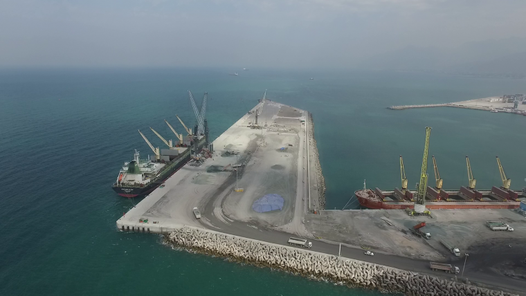 Saqr Port expansion in Ras Al Khaimah, United Arab Emirates