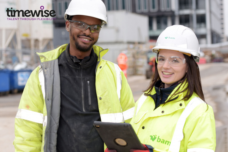 BAM partners pioneering study of flexible working in construction sector
