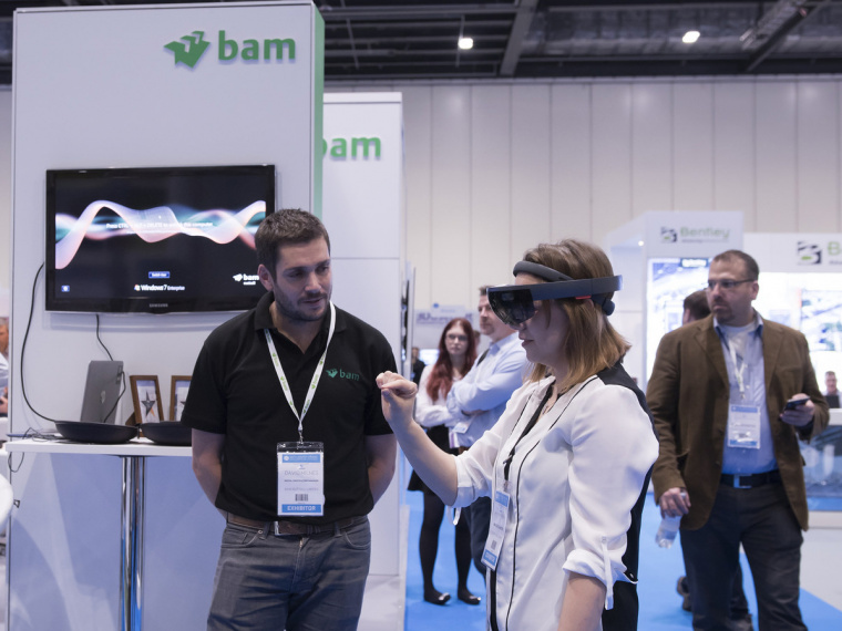 BAM leading the way at Digital Construction Week